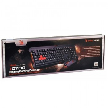 TECLADO & RATO GAMING - BLOODY (Q100+S2)