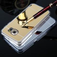 Capa Protetora Em Silicone Espelhada Para Samsung