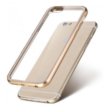 Capa em Silicone com Bumper Espelhado para iPhone
